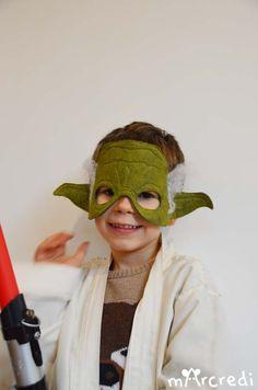 DIY de masque de yoda avec printable - Star Wars