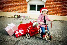 great Christmas pose idea!