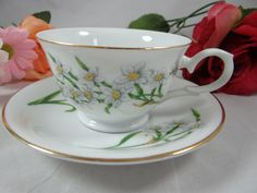 Vintage Avon Blossoms of the Month December by SecondWindShop, $15.00
