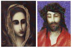 Hlava dle El Greca a Král Roman Catholic, Illustrations, Artist, Painting, Catholic, Illustration, Artists, Painting Art, Paintings