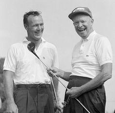 President Ronald Reagan, Republican Presidents, Us Presidents, Dwight Eisenhower, Nbc Nightly News, Arnold Palmer, American Legend, Golf Channel, Tips