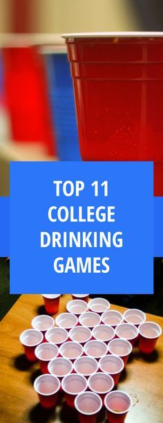 11 Drinking To Play At Your Next Beer Olympics