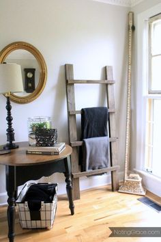 Do you have any scrap wood laying around and a few hours to kill? We were able to make this adorable Blanket Ladder using leftover wood for free.  Here's how we…