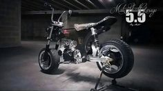 Custom Motorcycles, Custom Bikes, Cars And Motorcycles, 50cc Moped, Motorcycle Icon, Scooters, Mini Chopper, Scooter Custom, Honda Ruckus