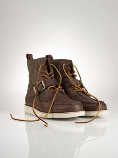 Saddleworth Patchwork Boot - Polo Ralph Lauren Casual - RalphLauren.com