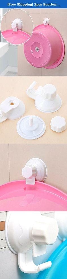 [Free Shipping] 2pcs Suction Cup Washbasin Hook Kitchen Bathroom Necessities // 2pcs succión necesidades del baño cocina gancho taza lavabo. Este gancho está especialmente diseñado para el almacenamiento de lavabo para salvar cocina y espacio de baño. También, se puede colgar otros objetos pequeños. Description:Color: WhiteWeight: About 100gMaterial: PP+PVC+ABSSize: About 6*4*2.5cmFeature:Good plastic, durability, easy to installSpecially design for storing wash basin, save kitchen and...