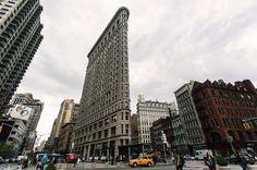 Otra de este genial edificio.  #flatiron #newyork #newyorkcity #nyc #wideangle #andresharambour