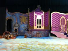 Set Design: Cinderella on Behance