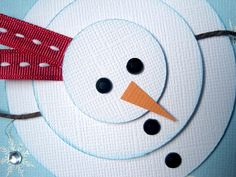 Snip Snap Scraps: Christmas Cards 2014 (card making) #cardmaking #papercrafting #Christmas #winter #snowmen