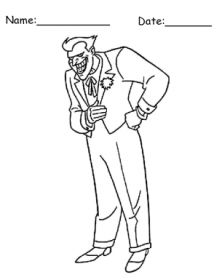 Give A Like For This Free And Fun Batman Coloring Page