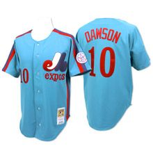 Montreal Expos Authentic 1982 Andre Dawson Road Jersey by Mitchell & Ness