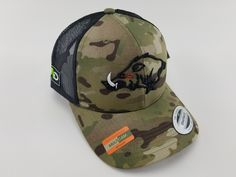 NEW DUCK OUTDOOR HUNTING HUNTER SIDE HUNT BALL CAP HAT BROWN