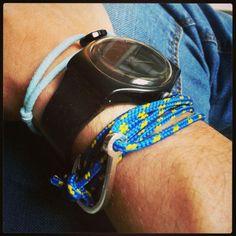 Zbyszek: bracelets SCALLINI Jack Blue and Luck Blue