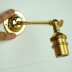 フランス 真鍮 ウォール ランプ ブラケット(壁掛け灯具) | アンティークショップ Home Sweet Home