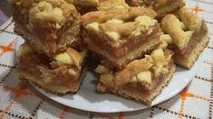 Starodávny recept na jablkový mrežovník: 30 minút a rozvoniava celá kuchyňa – nikdy sa neomrzí! Cookie Recipes, Dessert Recipes, Eat Seasonal, Salty Snacks, Hungarian Recipes, Cookie Bars, Apple Pie, Food And Drink, Sweets