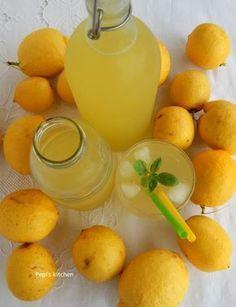 Lemon Recipes, Greek Recipes, Fun Drinks, Yummy Drinks, Food Network Recipes, Food Processor Recipes, Ice Cream Drinks, Chocolate Fudge Frosting, Greek Sweets