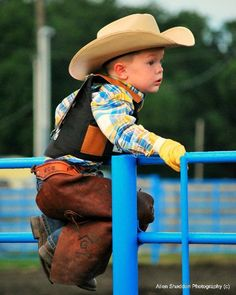 awww this is the future of my boys they want to be cowboys. i hope they look this cute