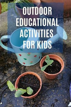 Simple ways to take learning outdoors. Fun educational activities to do with kids of all ages. #kidsactivities #childrensactivities #summercamp #summervacation Outside Activities, Outdoor Activities For Kids, Outdoor Learning, Activities To Do, Nature Activities, Summer Activities, Outdoor Fun For Kids, Outdoor Play, Outdoor Living