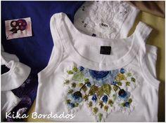 kika bordados camisetas - Pesquisa Google