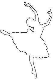 трафарет балерины из бумаги распечатать: 9 тыс изображений найдено в Яндекс.Картинках
