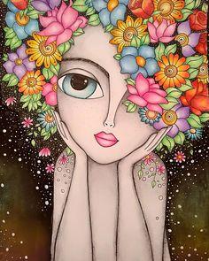Arte Pop, Art And Illustration, Doodle Art, Mandala Art Lesson, Indian Art Paintings, Owl Paintings, Butterfly Art, Whimsical Art, Fabric Painting