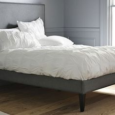 Serena Upholstered Bed | west elm