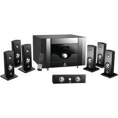 Pyle Pro 7.1-channel Home Theater System With Bluetooth (pack of 1 Ea) #speaker #bluetooh https://seethis.co/8r9eBA/