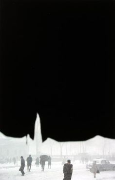 Siluetas | SAUL LEITER Canopy, 1958