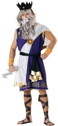 Diy male toga could even be worn with jeans oh thats crafty zeus costume greek god costume solutioingenieria Images