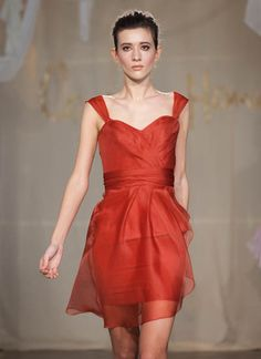 Pretty bridesmaid dress!  Must make appointment at Bella Bridesmaid...