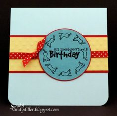 "My ""Crafty"" Life on the Internet: It's Somebunny's Birthday----"