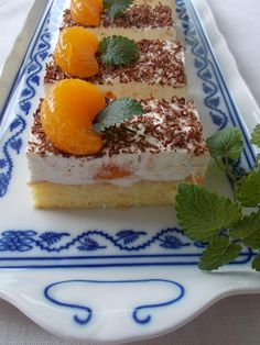 Czech Recipes, Ethnic Recipes, Tiramisu, Cheesecake, Food And Drink, Anna, Treats, Sweet, Sweet Like Candy