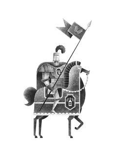"""""""Beer Knight"""" by Marc-Etienne Peintre"""