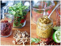 Sun Dried Tomatoes, Arugula and Walnut Pesto | The Healthy Foodie