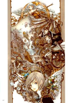 Nao Tsukiji Illustration : Nostalgia - vol 1 Page 7 | Batoto!