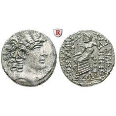 Syrien, Königreich der Seleukiden, Philippos Philadelphos, Tetradrachme Jahr 20 = 30-29 v.Chr., vz: Philippos Philadelphos 89-83… #coins