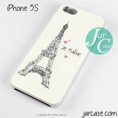 PARIS JE TAIME Phone case for iPhone 4/4s/5/5c/5s/6/6 plus