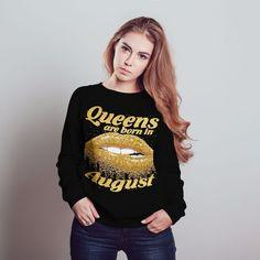 #Getitnow at Krulhare.com #QueensAreBornInAugust #AugustQueen #AugustQueens #AugustGirl #AugustGirls #Onthisdayaqueenwasborn #August #Krulhare #Leo #Leoseason #Virgo #Virgoseason #Birthday #Birthdaygift #Birthdaygifts #Birthdayshirt #Birthdayshirts #Zodiac #birthdaygirl #birthdaygirls