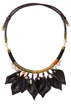 Lizzie Fortunato Pearl-Embellished Necklace