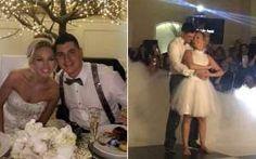 Casal recria cena de 'Dirty Dancing' em festa de casamento - http://anoticiadodia.com/casal-recria-cena-de-dirty-dancing-em-festa-de-casamento/