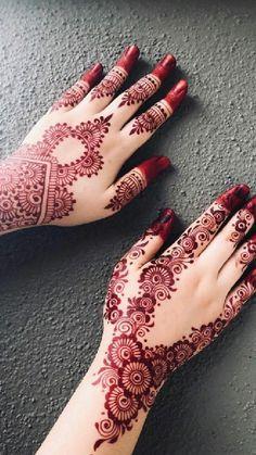 Latest Arabic Mehndi Designs, Mehndi Designs For Kids, Rose Mehndi Designs, Henna Tattoo Designs Simple, Back Hand Mehndi Designs, Latest Bridal Mehndi Designs, Henna Art Designs, Mehndi Designs For Beginners, Unique Mehndi Designs