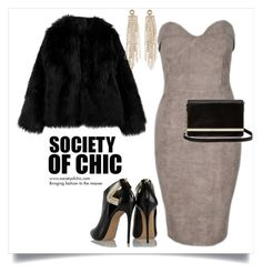 """SHOP - Society of Chic"" by societyofchic ❤ liked on Polyvore featuring Casadei, Diane Von Furstenberg, Charlotte Russe, women's clothing, women's fashion, women, female, woman, misses and juniors"