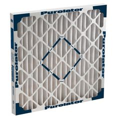 #airconditioners #Purolator HE-40 Pleated Filters Are Made With 100% Synthetic Fibers Providing Mechanical Efficiency To Achieve A MERV 8 Rating With Low Resista...
