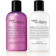 Philosophy Sugar Plum Fairy Bath and Lotion Duo found on Polyvore featuring beauty products, bath & body products, body cleansers, no color and bubble bath