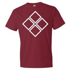 Four Square Diamond Men's T-shirt