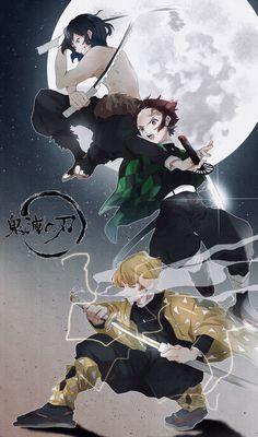 kimetsu no yaiba Manga Anime, Me Anime, Anime Demon, Otaku Anime, Anime Art, Super Anime, Estilo Anime, Anime Kunst, Arte Pop