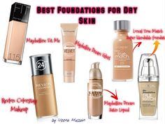 high coverage foundation for dry skin