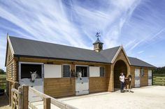Scotts is one of the country's leading manufacturer and supplier of desirable equestrian timber stables, with an unrivalled reputation for over 50 years. Dream Stables, Dream Barn, Horse Stables, Horse Barns, Mini Horse Barn, Cotswold House, Barn Layout, Horse Property, New Homes