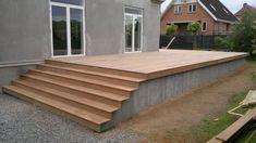 Indoor Outdoor Living, Outdoor Decor, Diy Terrasse, Patio Deck Designs, Outside Living, Wooden Decks, Building A Deck, Back Patio, Loft Style