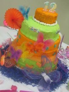 12th birthday cake
